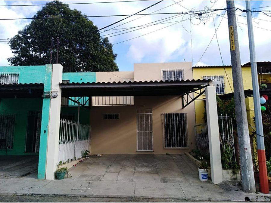 casa residenciales el tabacal villa nueva