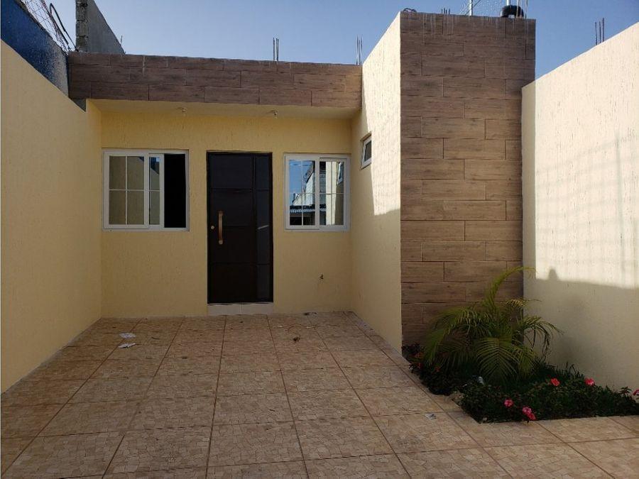 casa residenciales san jose las rosas un nivel en construccion