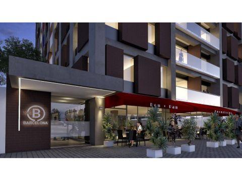 apartamento zona 9 torre barcelona