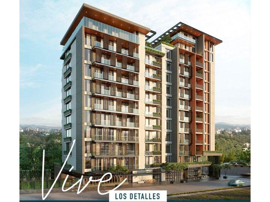 apartamento zona 15 triva entrega 2021