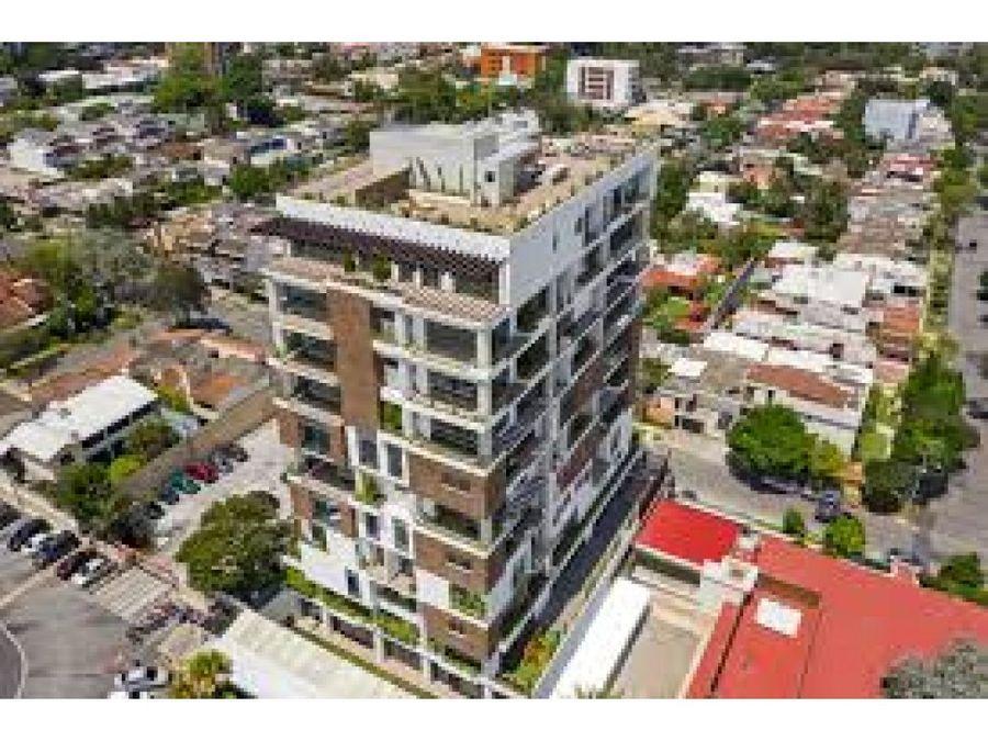 apartamento zona 15 torre caprese