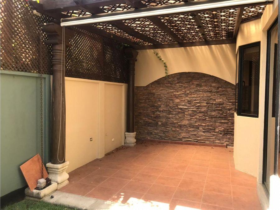 casa condominio gardens sector a1 san cristobal