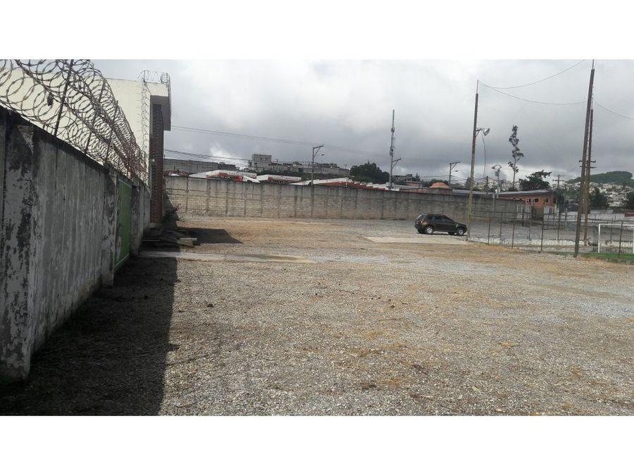 terreno industrial zona 18