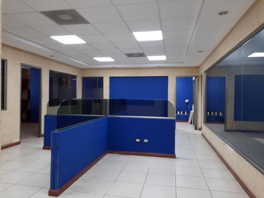 oficina zona 4 de mixco edificio crece