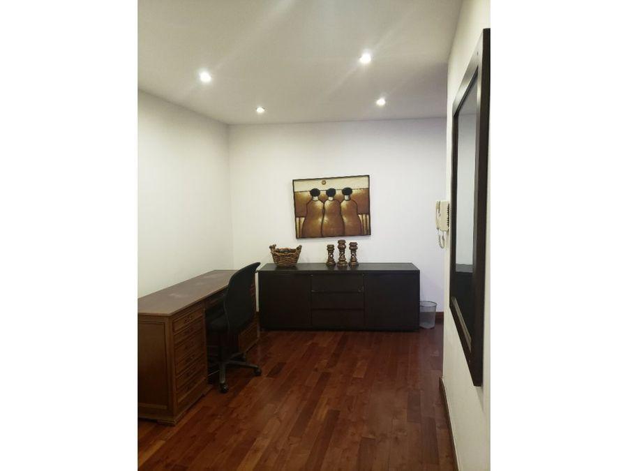 apartamento zona 10 tiffany amueblado