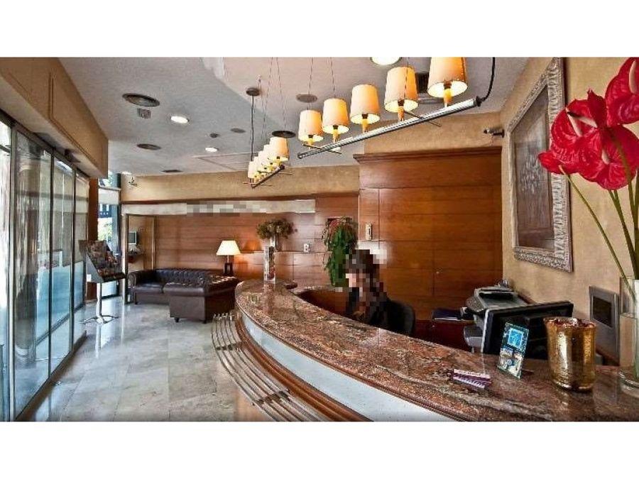 traspaso hotel 3 estrellas en sant pau