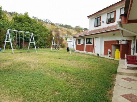 vta parcela con casa 9d 6b villa alemana vd 353