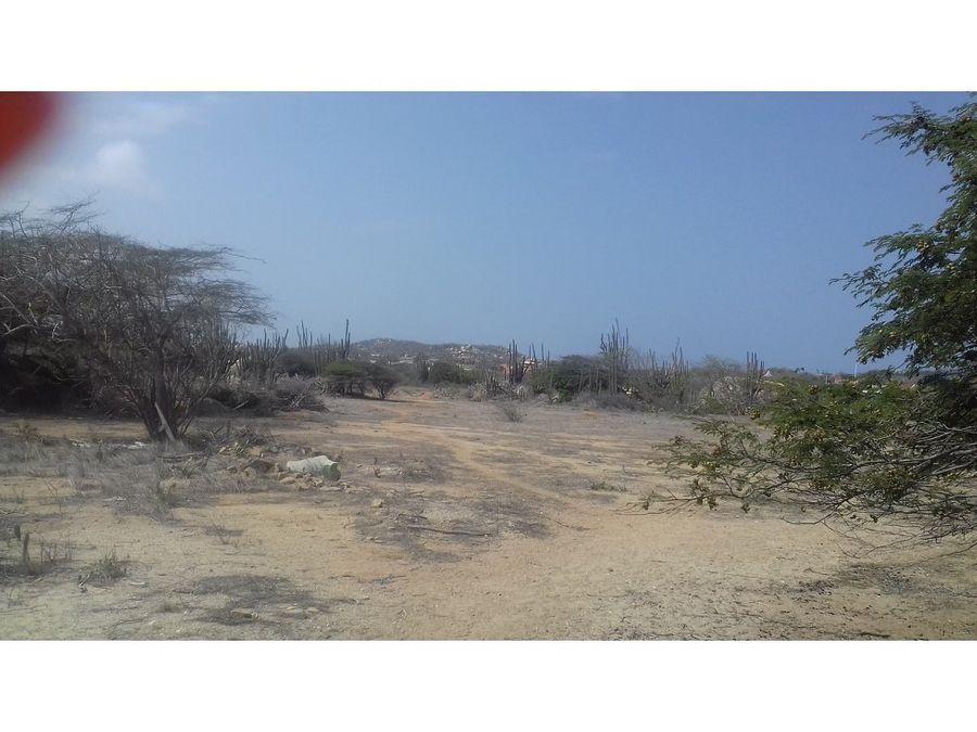 se vende terreno de 6200 m2 santa cruz aruba