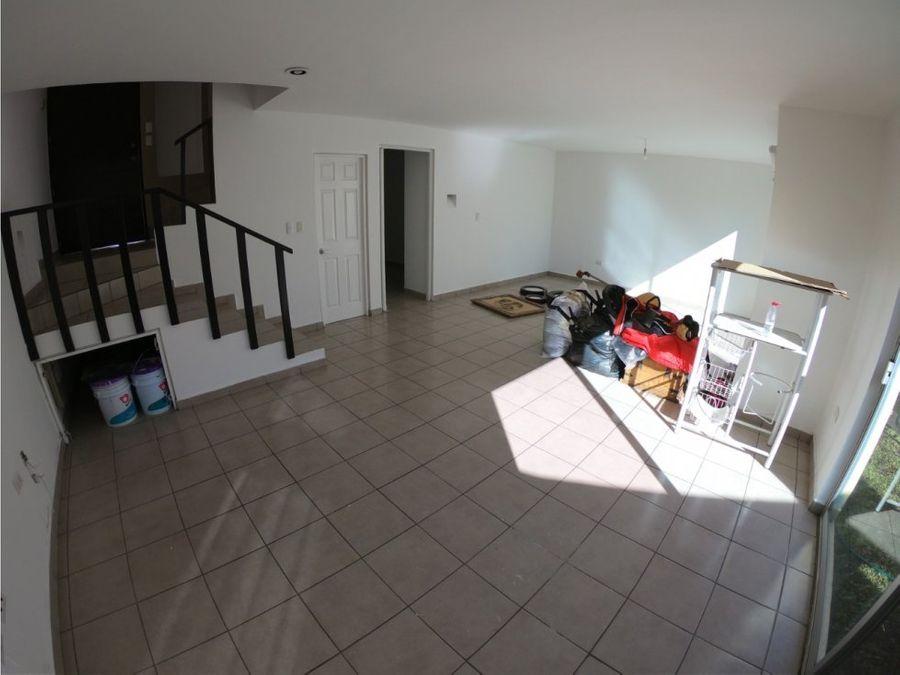 casa en renta al norte residencial trojes de san crsitobal