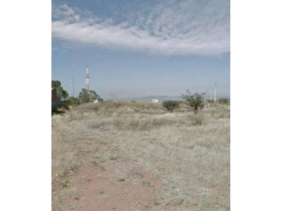 terreno en venta al sur ote de la ciudad rumbo a san luis potosi