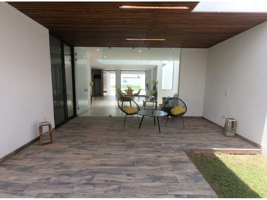 casa en venta al nor pte en terranza residence de lujo