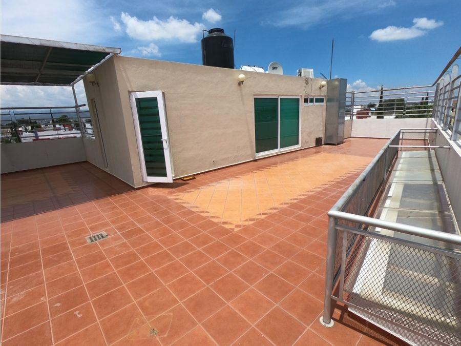 casa en venta al norte con roof garden trojes san cristobal