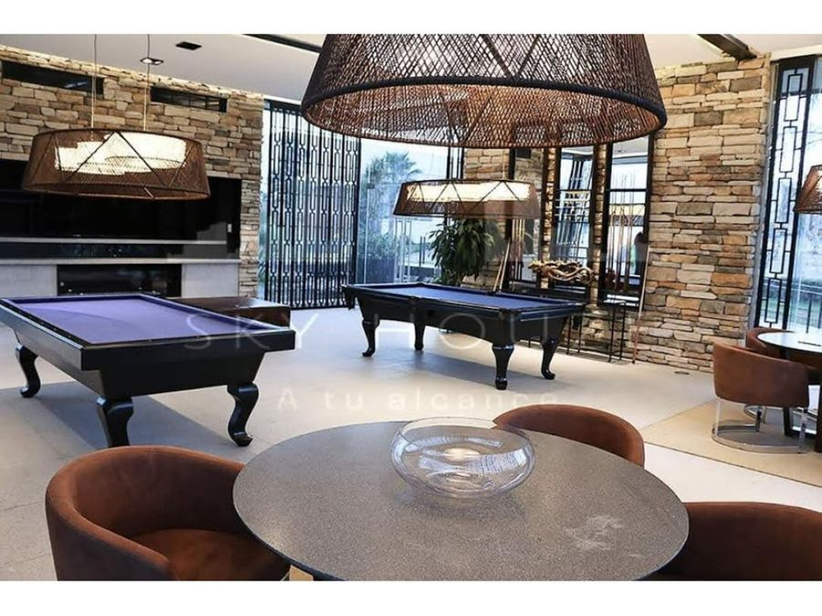 departamento amueblado renta de lujo terranza residence