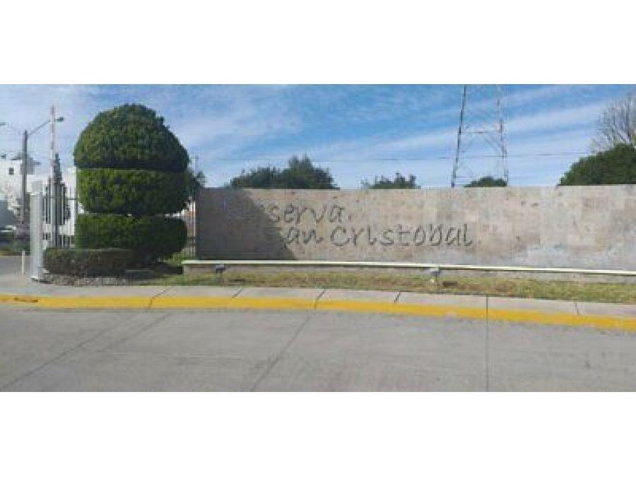 casa amueblada renta al norte residencial reserva san cristobal