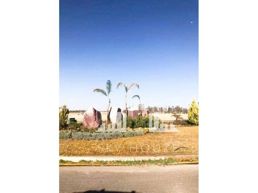 terreno en venta al norte en santa paulina residencial