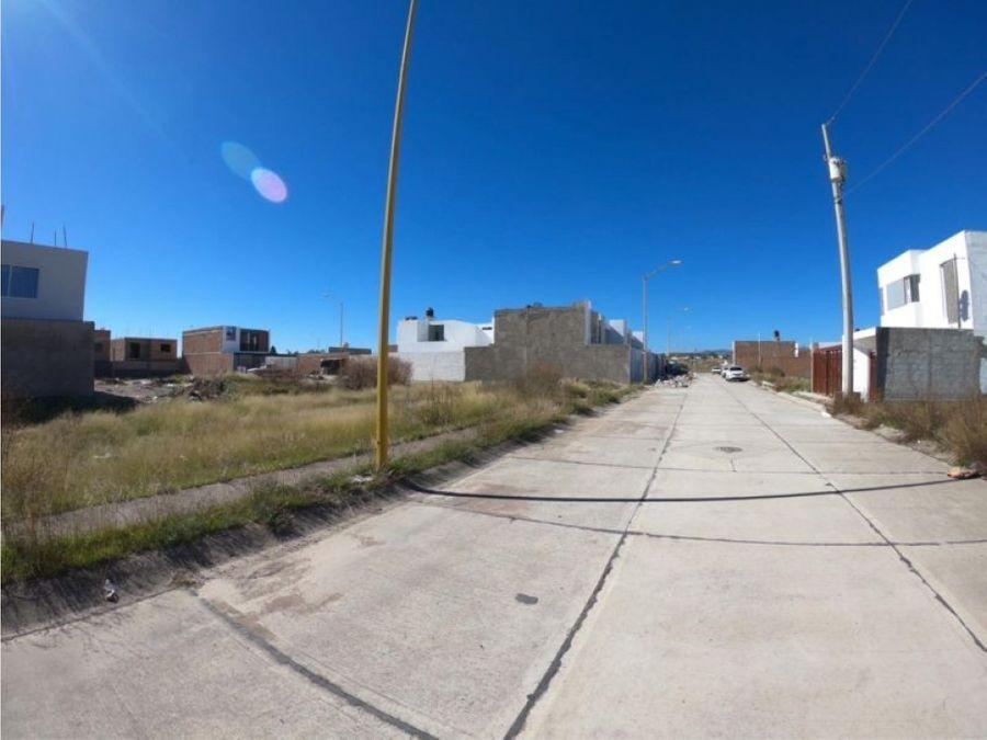 terreno en venta al sur pte en fracc villas de la cantera