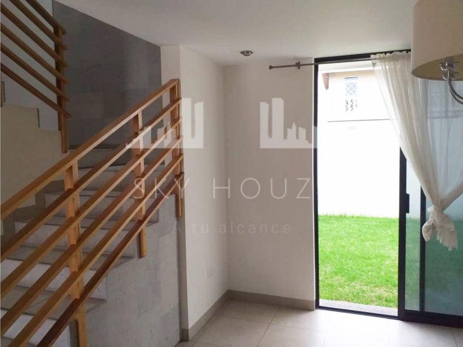 casa en renta al norte cerca de san telmo en condominio horizontal