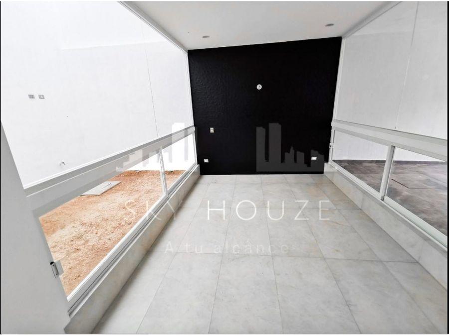 casa inteligente moderna en renta en residencial la perla norte