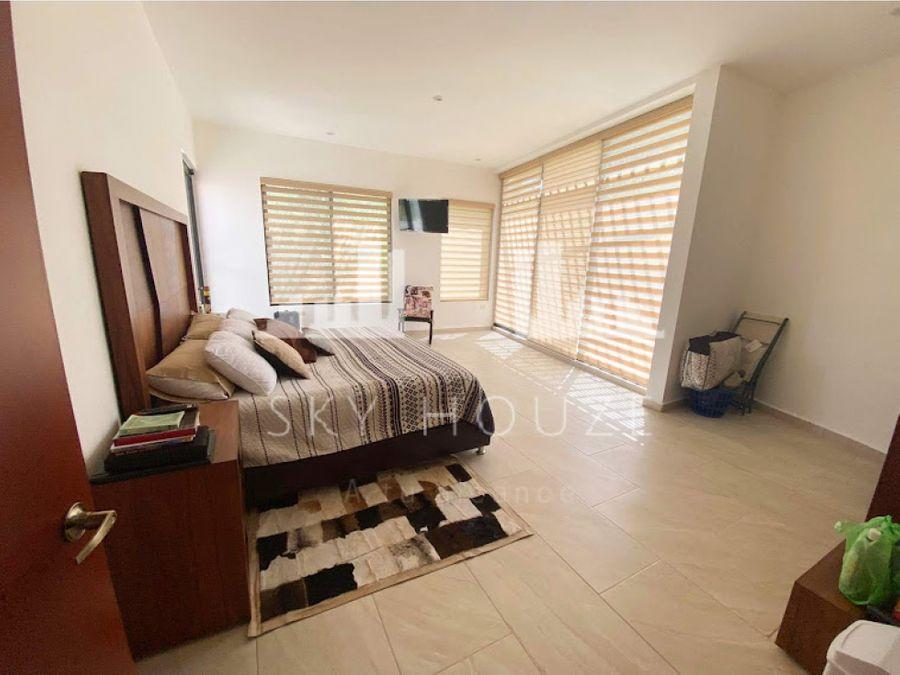 casa amueblada en renta al sur en residencial campestre san joaquin