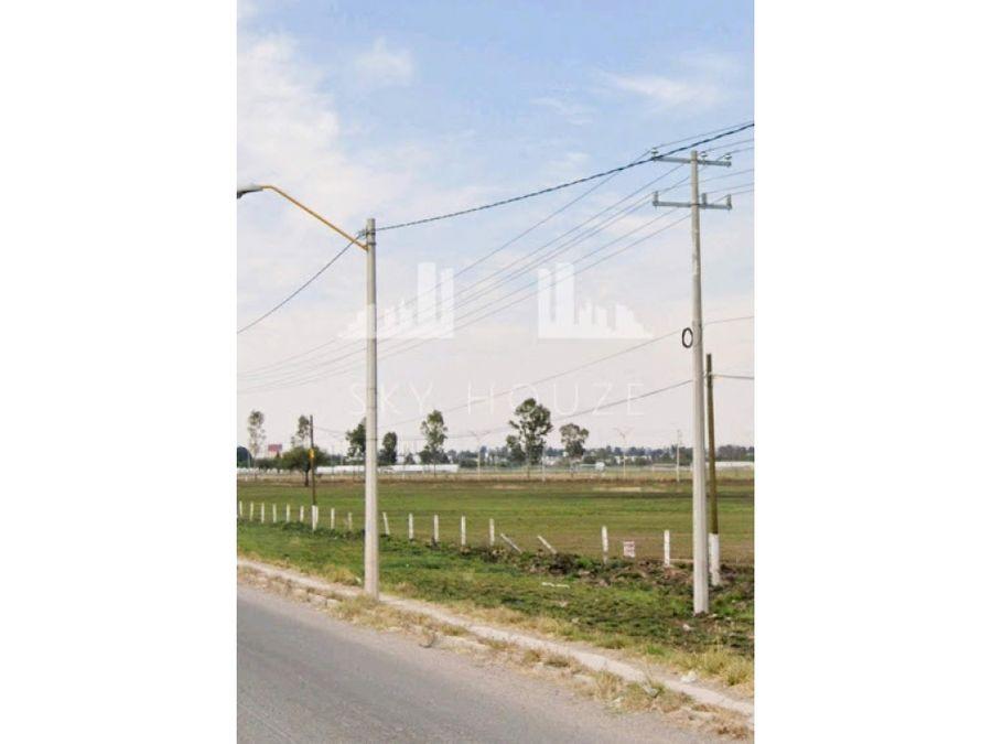 terreno en venta al sur sobre av rpincipal cerca de planta nissan 1