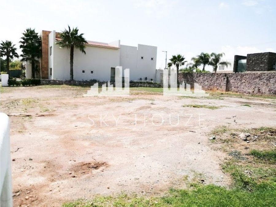 terreno residencial venta al norte en rancho san antonio