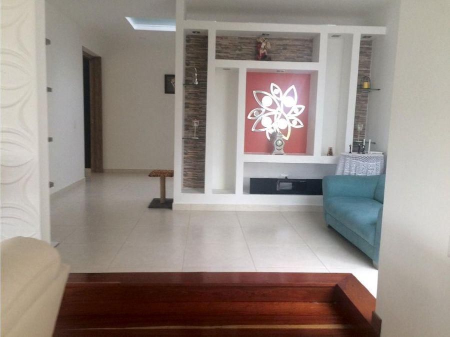 venta de hermosa casa campestre de un piso sector tribunas