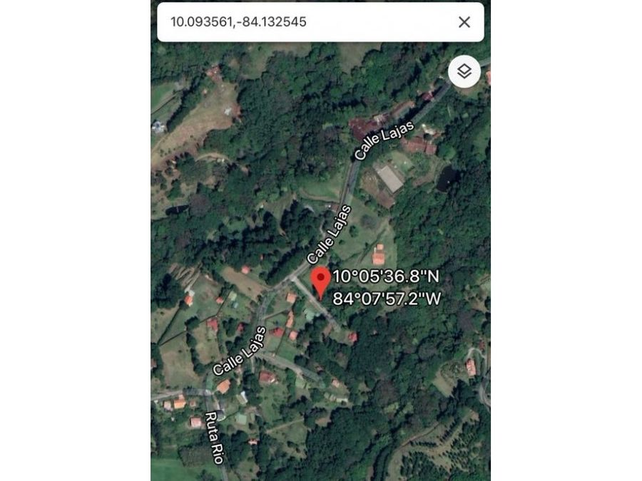 terreno en calle lajas zona montanosa barrio san bosco heredia