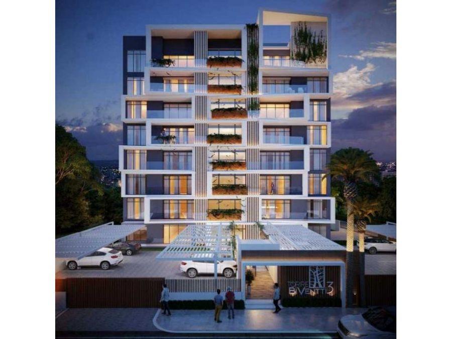 elegante torre en proyecto ubicada en villa olga