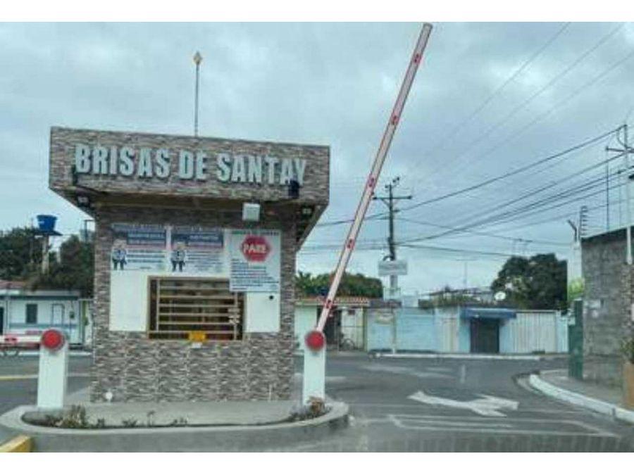 venta terreno urbanizacion brisas de santay duran
