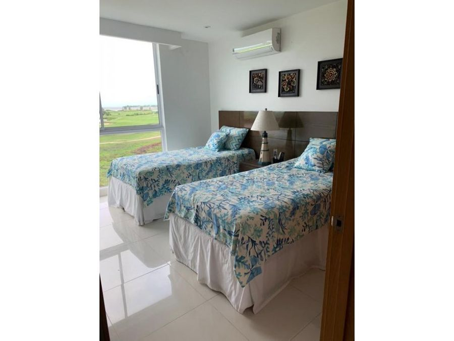venta apartamento 3 hab karibana beach golf cartagena