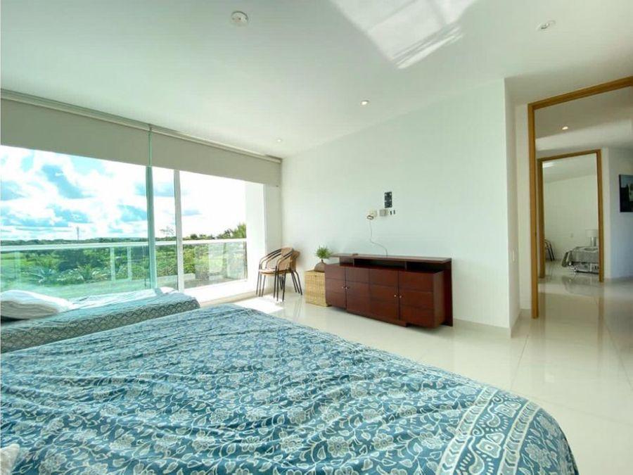 venta apartamento 3 hab conjunto karibana cartagena golf beach