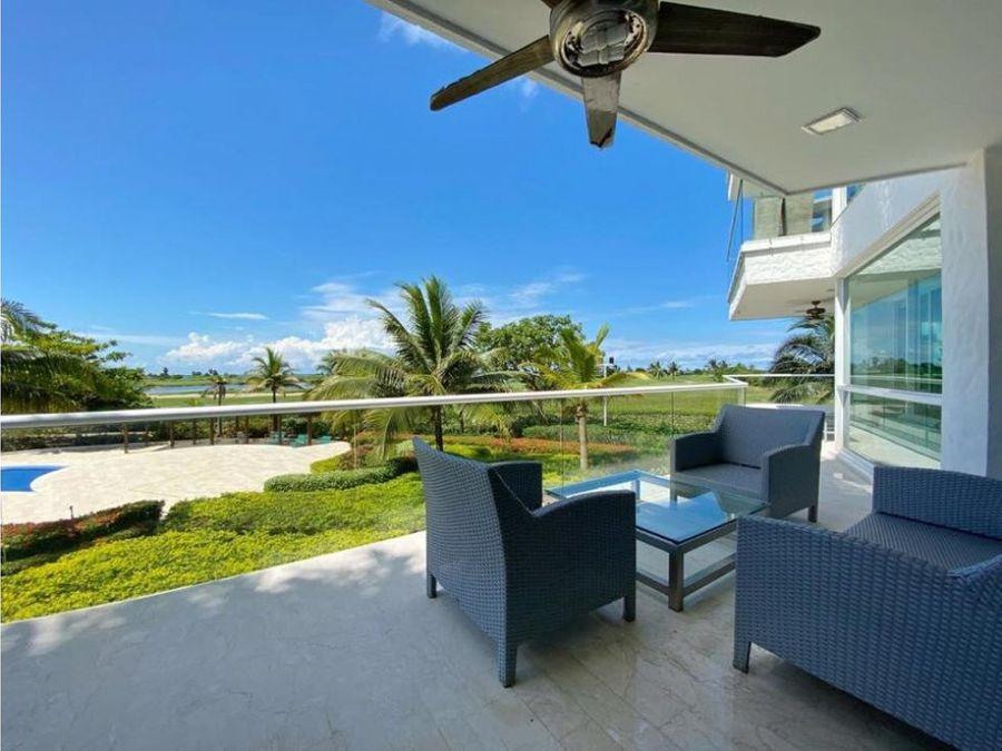 venta apartamento doble karibana cartagena beach golf