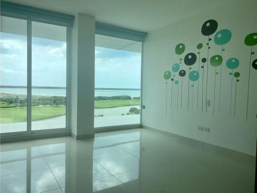 venta apartamento duplex karibana beachgolf cartagena