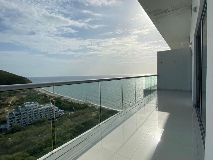 venta apartamento playa salguero santa marta