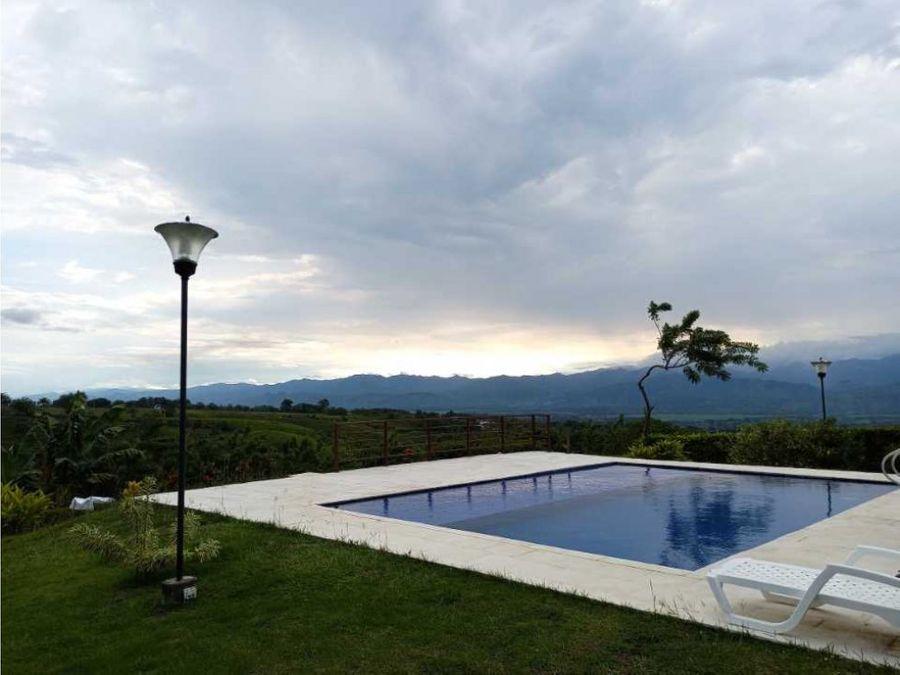 venta casa campestre un piso con piscina cerritos la carmelita