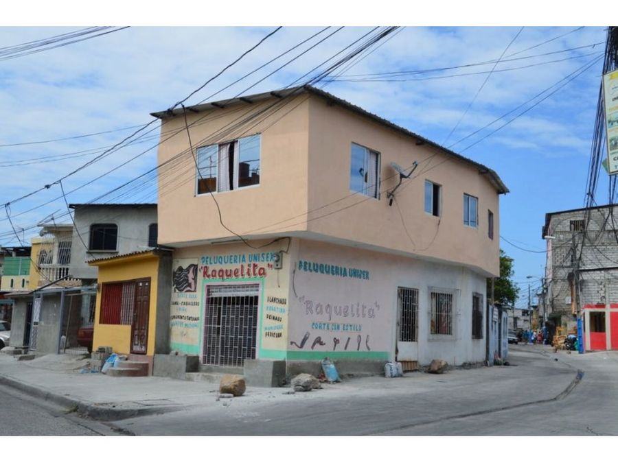 venta casa comercial pre coop perla del sur sur de guayaquil