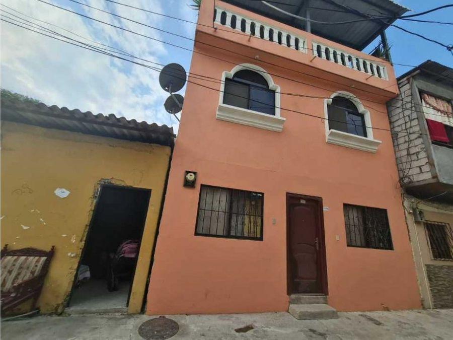 venta casa 2 plantas y terraza guasmo norte sur de guayaquil