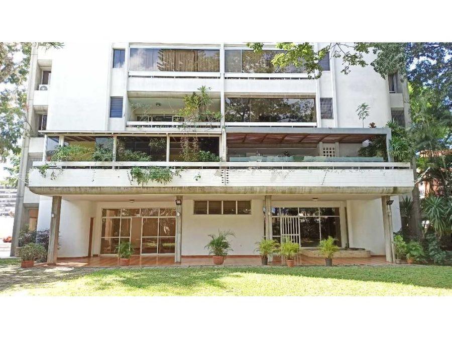 venta de apartamento en altamira con espectacular vista al avila