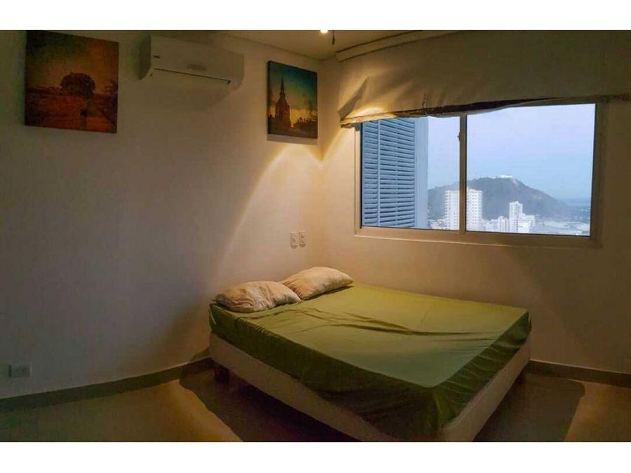 venta de apartamento en manga vista bahia ctg