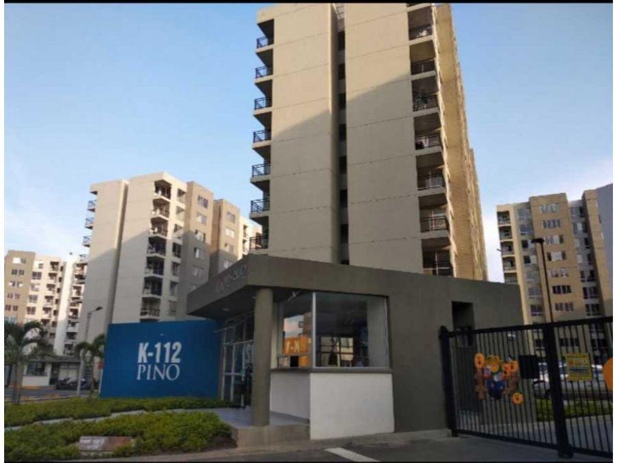 venta de apartamento sur de cali bochalema unidad cerrada pino
