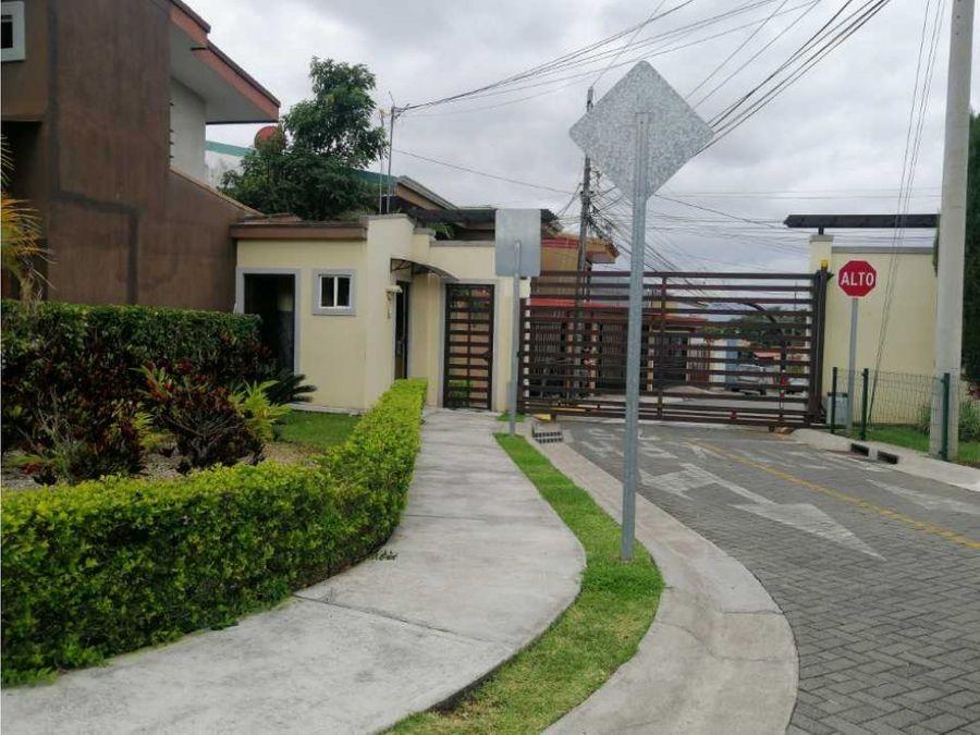 venta de casa heredia san pablo condominio el cafetal