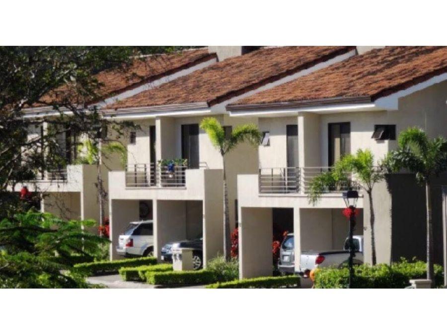 venta de casa santa ana condominio parques del sol
