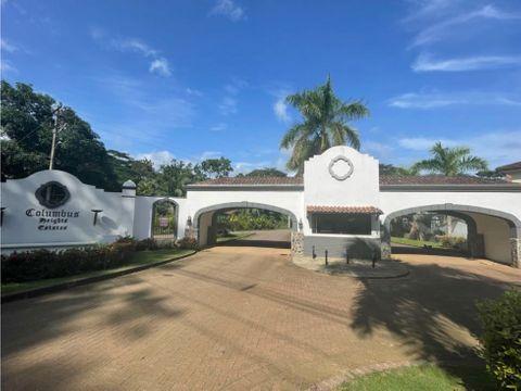 venta de lote puntarenas jaco playa hermosa residencial columbus