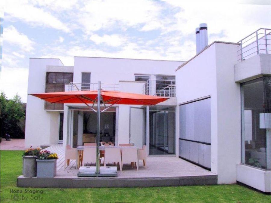 venta hermosa casa en san simon bogota