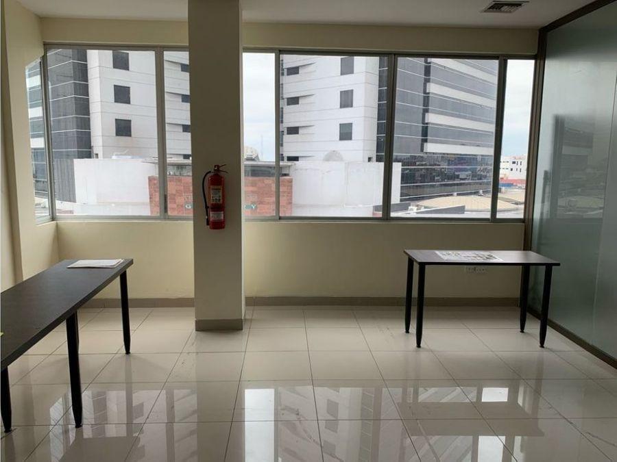 venta oficina amplia en edificio elite norte de guayaquil