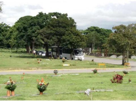 se vende parcela cementerio del este