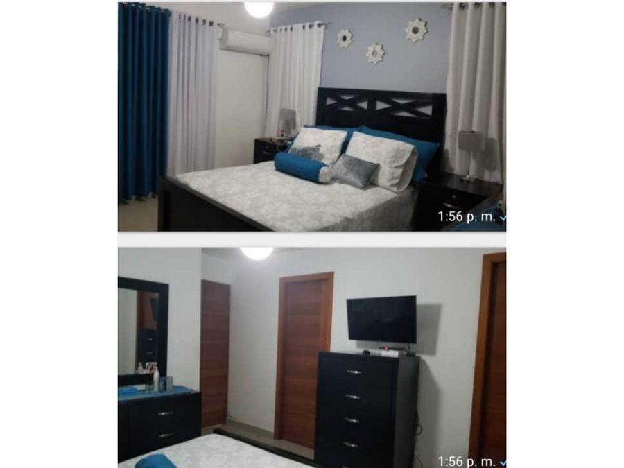 vendo apartamento 1er nivel moca
