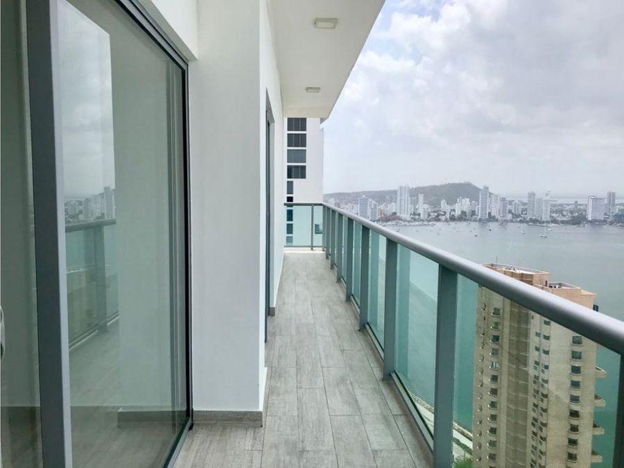 vendo apartamento con vista en bocagrande