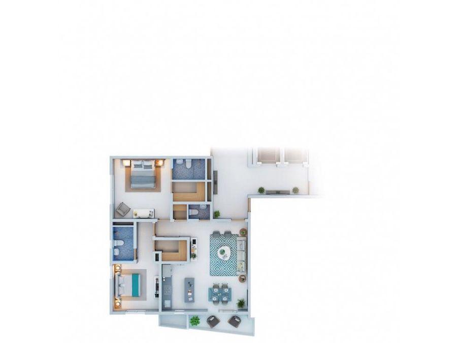apartamento estudio de venta en la esmeralda