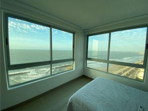 vendo apartamento en cartagena con vista al mar